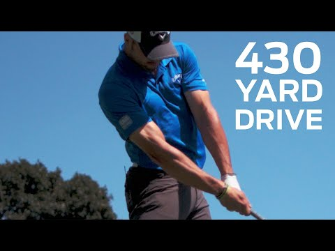 Long Drive Champ Hits the Green on 430-Yard Par 4 | Golf Assassins