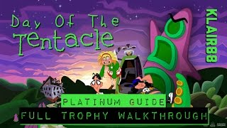 Day of the Tentacle - 100% Platinum Guide - Full Trophy Walkthrough