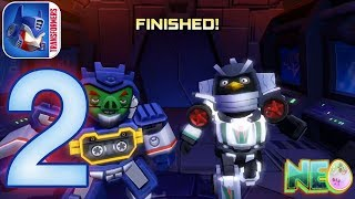 Angry Birds Transformers: Gameplay Walkthrough Part 2 - Soundwave Rescue ! (iOS, Android)