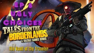 Tales From The Borderlands: Episode 5 The Vault of the Traveler Complete Ugly/Silent Choices