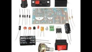 Посылки из Китая - Радио Конструктор(Kit ) Лабораторный блок Питания На Lm317. Сделай Сам!