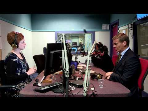 Bill English on Morning Report May 22nd 2017