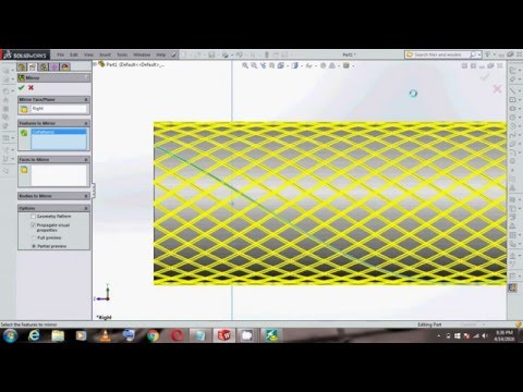 Solidworks Tutorial Creating A Knurl Surface Doovi
