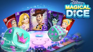 Disney Magical Dice - Adventure Of Aladdin Free For All Mode!