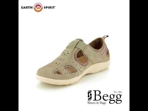 Earth Spirit Cleveland 28053-20 Beige Closed Toe Sandals