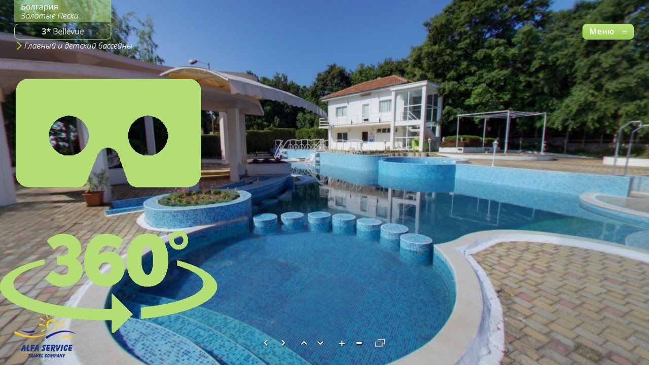 3d Hotel Bellevue Bulgaria Area Golden Sands Project 360q