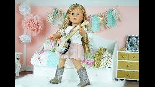 Tenney Yatak Odası kurma - American Girl Room Tour - AG Dollhouse Tour