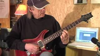 Honky Tonk Woman The Rolling Stones Guitar Lesson by Siggi Mertens
