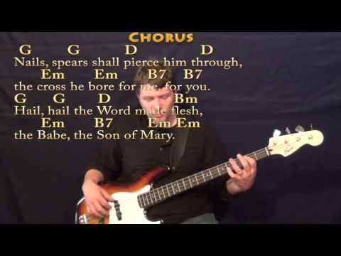 Mandolin mandolin chords what child is this : What Child is This (CHRISTMAS) Bass Guitar Cover Lesson in Em with ...