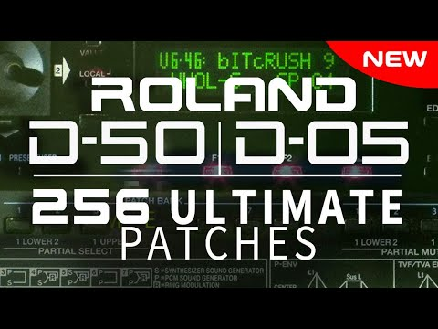 ROLAND D-05 ULTIMATE PATCHES • VOLUMES 1-4
