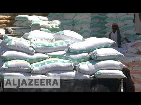 Saudi blockade eased in Yemen, food and aid arrives