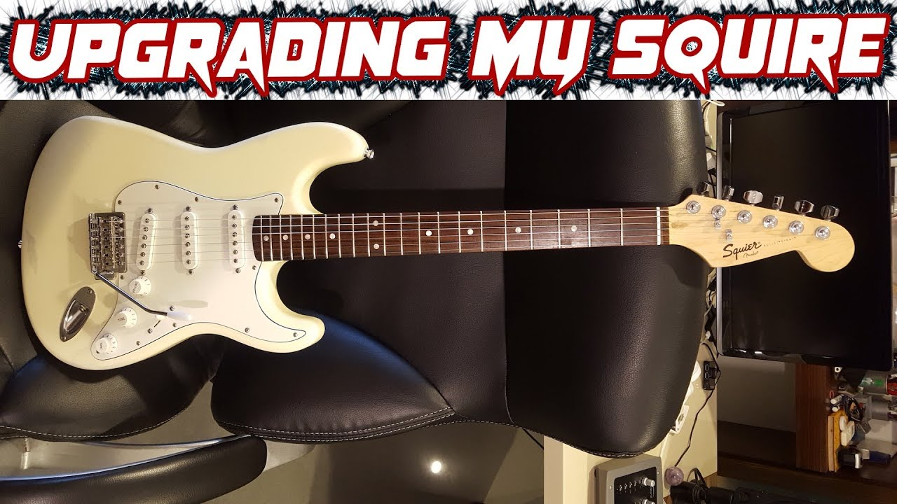 Modding My Chinese Squire Bullet Strat
