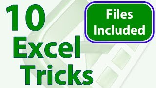 10 Excel Tricks to Improve Performance - Workbook Included