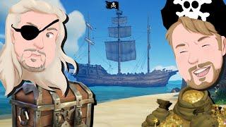 Vilse på havet med Danne och Pattan - Sea of Thieves på svenska