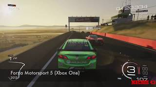 V8 Supercars video games throughout the years