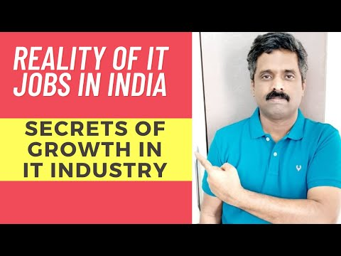 reality of it jobs in India | reality of it sector | reality of it industry and it companies