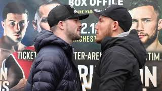 POTENTIAL FIGHT OF THE YEAR? - MARK HEFFRON v LIAM WILLIAMS - HEAD TO HEAD @ PRESS CONFERENCE