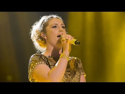 Ella Henderson sings You're The One That I Want - Live Week 7 - The X Factor UK 2012
