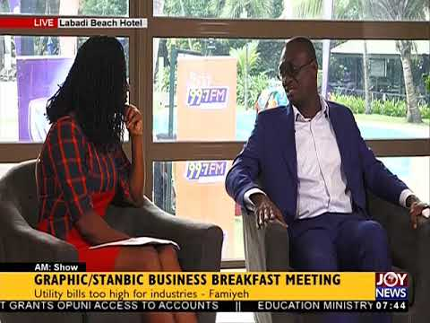 Ghana's Manufacturing Industry - AM Show on JoyNews (31-7-18)
