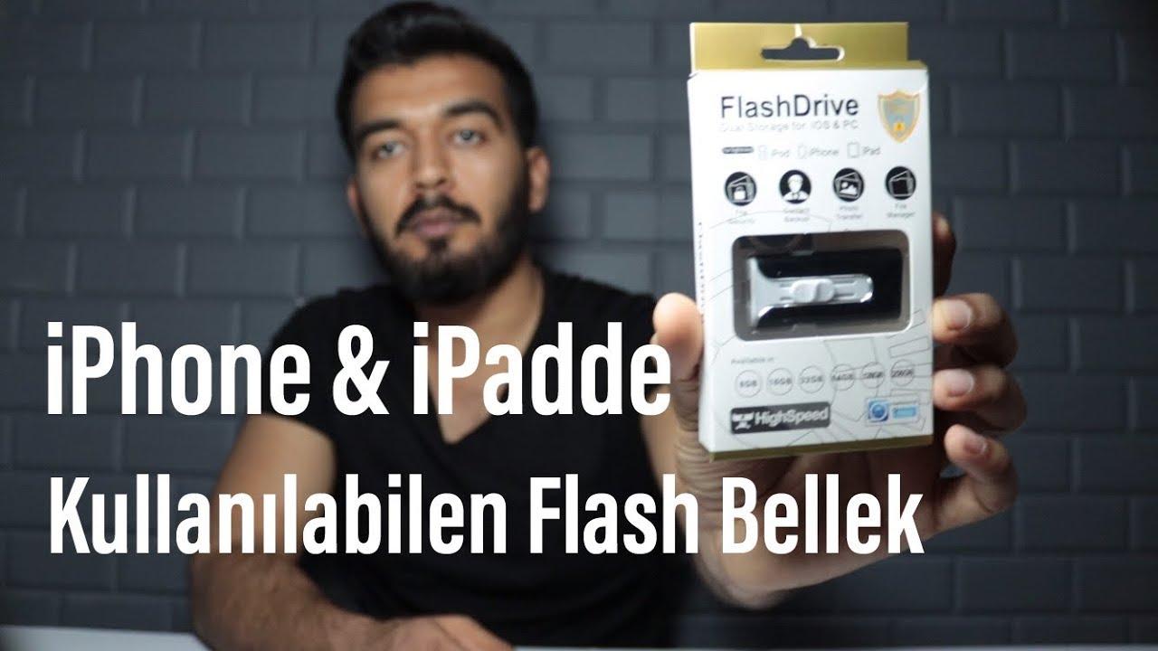 iPhone'a ve iPad'e Flash Bellek Takılır mı?