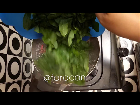 Clear Soup Katuk (Sauropus Androgynus)   Sayur Katuk Bening
