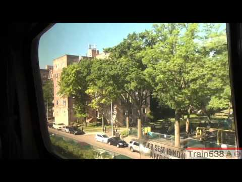 [HD] Riding Amtrak 141: New Rochelle to New York-Penn Station - 6/27/2012