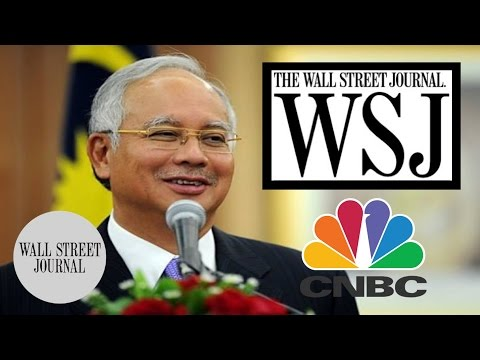 Interview 1MDB: Wall Street Journal, CNBC Najib Ekslusif