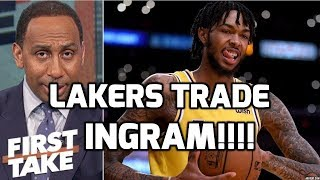 LAKERS WILL TRADE BRANDON INGRAM