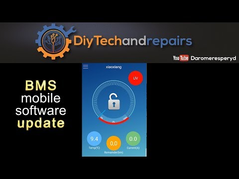 Cheap BMS - Mobile software update - English