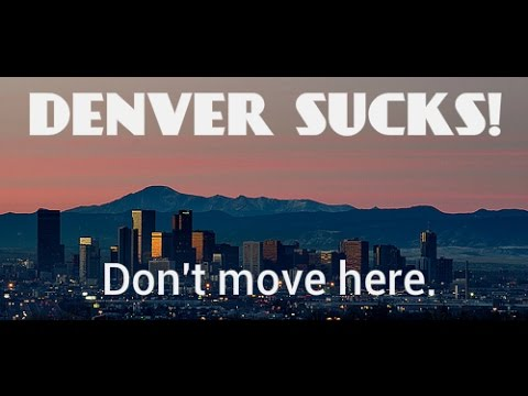 "Josh Whitaker explains why Denver ISN'T the ""No. 1 Best City to Live"" (funny)"
