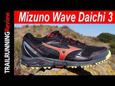 Mizuno Wave Daichi 3 Review - YouTube