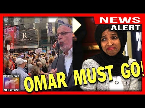 ALERT! Omar Is In TROUBLE! Hundreds Gather In NYC To PROTEST HER