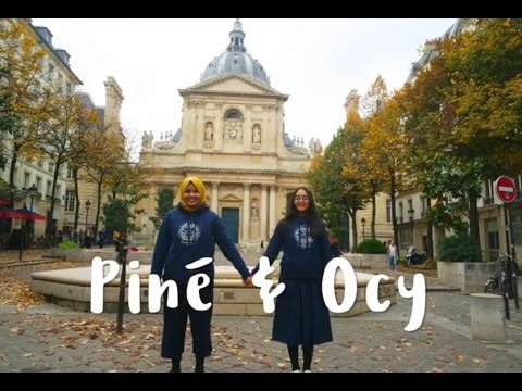 [Piné & Ocy] Episode 1 STUDY IN SORBONNE