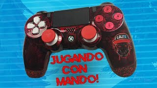 💀 ¡JUGANDO CON UN MANDO COMPETITIVO EN PC! 💀 ~ FORTNITE