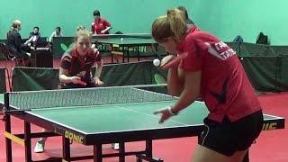 Татьяна ГАРНОВА - Анна КРАСИКОВА Настольный теннис, Table Tennis