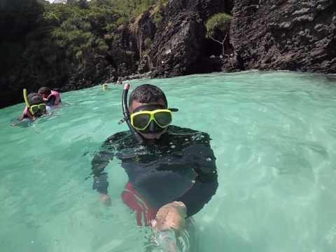 Snorkeling nui beach phi phi don Thailand GoPro