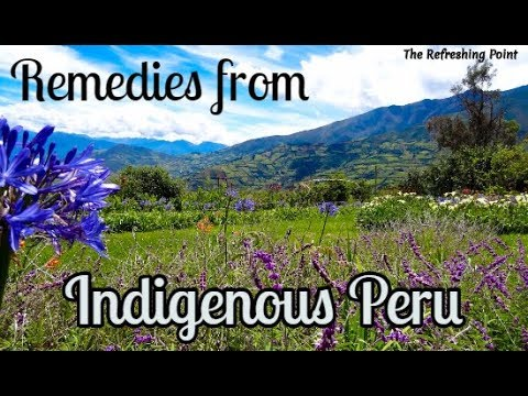 Herbal Remedies From Within the Indigenous Cultures of Peru - Natural Cures for Many Ailments