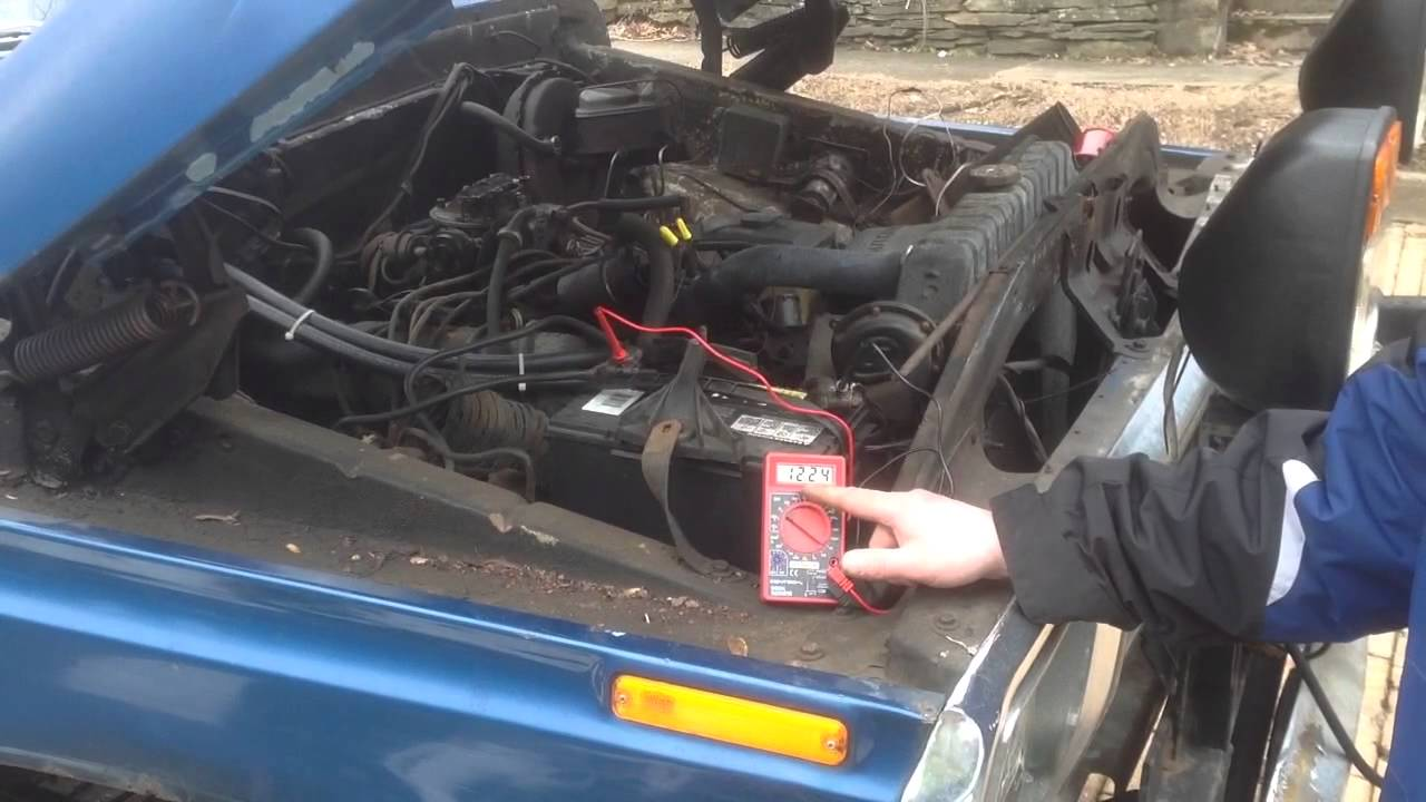 Is the car battery charging harbor freight multimeter
