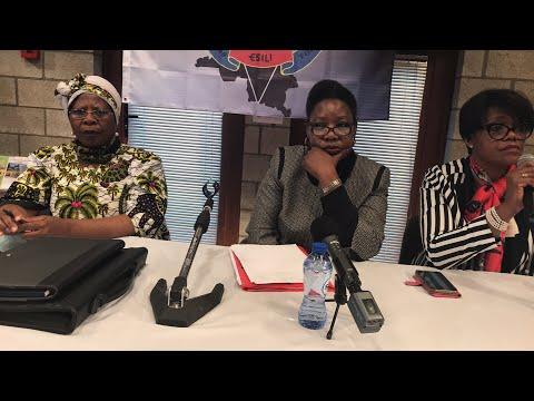 Verviers:Justine Kasa-Vubu répond aux questions des congolais..les enjeux du moment