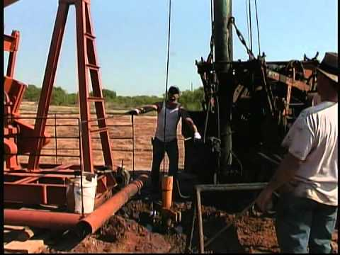 Sanders Drilling - Christopher C. Sanders discovers oil at twenty feet!  Black Gold