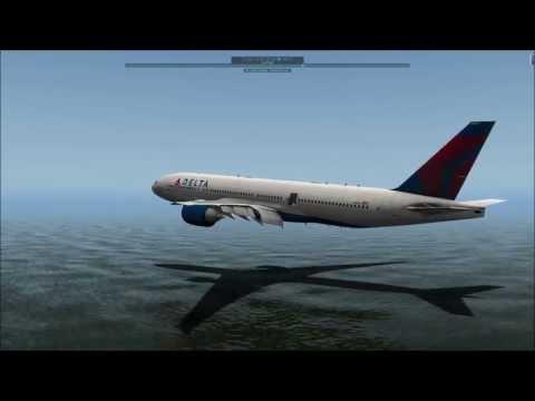 MAYDAY!MAYDAY! - B777 Ditching - X-Plane 10