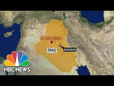 Special Report: Iran Attacks U.S. Military Base In Iraq | NBC News (Live Stream)