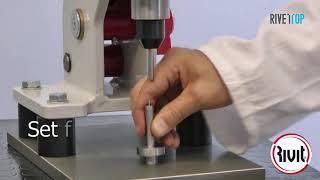 Ручной пресс для установки запрессовочного крепежа R V 2100