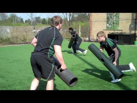 London Irish Rugby Union Club Train With ViPR