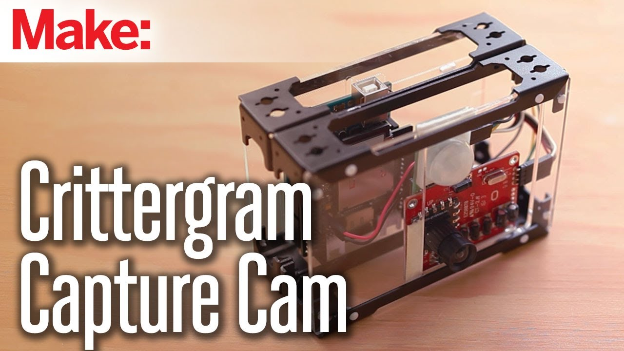Weekend Projects - Crittergram Capture Cam - YouTube