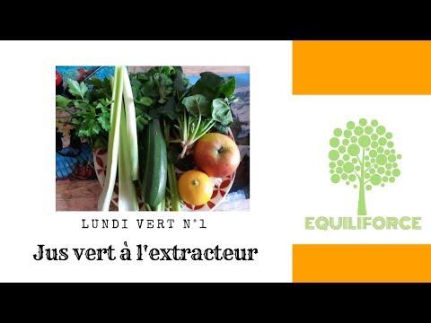 💚lundi-vert-n°1-:-jus-vert-à-l'extracteur-(épinards,-céleri,-persil,-courgette,-citron,-pomme...)