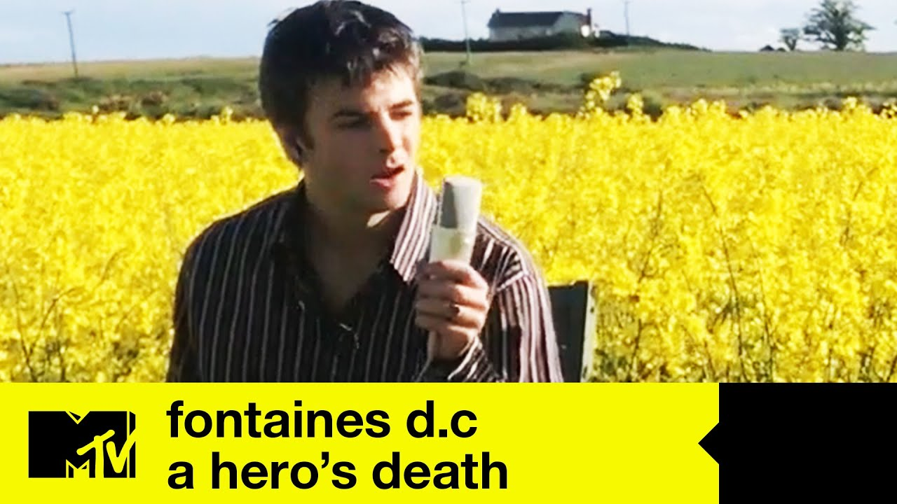 Fontaines D.C Perform 'A Hero's Death' | MTV Music
