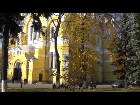 Kiev, Ukraine: Beauty of  Saint Vorodymir Cathedral