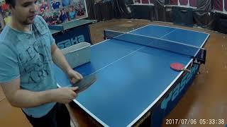 Подача как у профи  зависит от маятника-топса ПРОДАВИТЬ мяч в стол