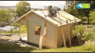 Летний домик из дерева для всей семьи от Terra-2000(Садовый, дачный домик - уютная деревянная беседка по канадской технологии из вагонки для дома,дачи и сада..., 2013-09-13T19:15:20.000Z)